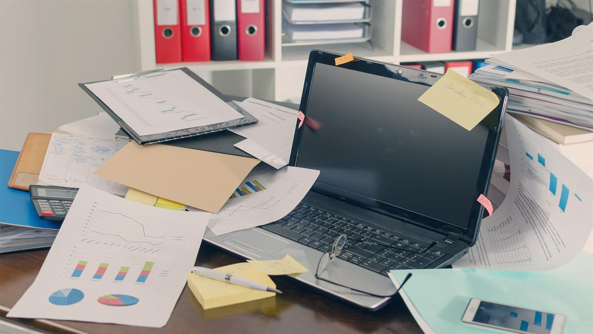Untidy Desk